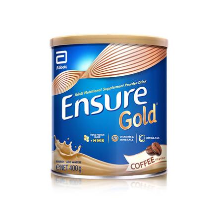 圖片 Ensure Gold HMB Coffee 400g, ENSURECOFFEE400