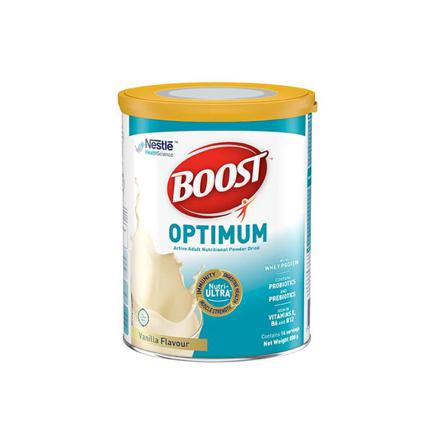 圖片 Nestle Boost Optimum Vanilla Adult Milk Powder 800g, NESTLEBOOST800
