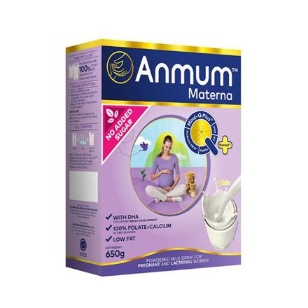 圖片 Anmum Materna Milk Powder Plain No Added Sugar 650g, ANMUMPLAIN