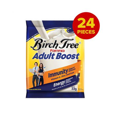 圖片 Birch Tree Fortified Adult Boost 33g Pack of 24, BIRCHTREE33