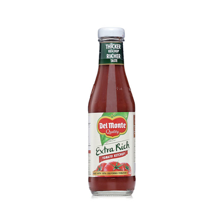 圖片 Del Monte Tomato Ketchup Extra Rich 320g, DEL137
