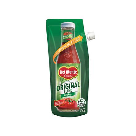 圖片 Del Monte Tomato Ketchup Original Blend Spout 320g, DEL103
