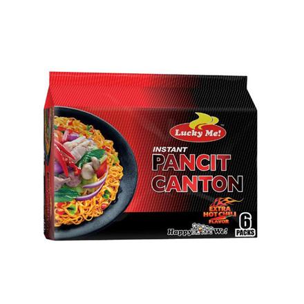 圖片 Lucky Me Pancit Canton 80g 6 packs (Extra Hot Chili, Chilimansi, Kalamansi, Original, Sweet and Spicy), LUC12Y