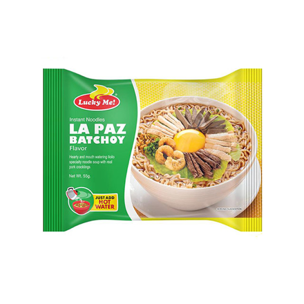圖片 Lucky Me Instant Noodles La Paz Batchoy 55g, LUC111