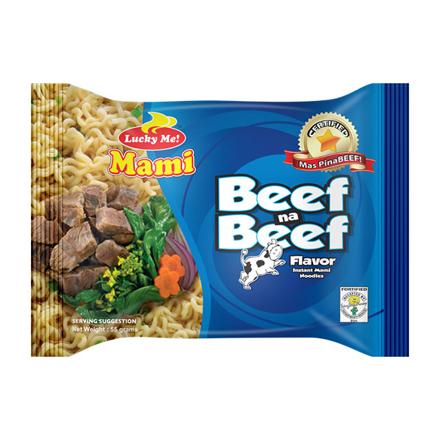 圖片 Lucky Me Instant Noodles 55g (Beef, Chicken, Itnok), LUC01