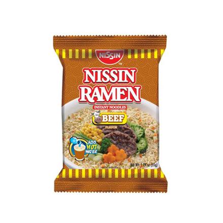 圖片 Nissin Ramen 55g (Beef, Chicken, Creamy Seafood, Seafood, Spicy Beef, Spicy Seafood), NIS36