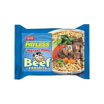 圖片 Payless Instant Mami Beef 55g, PAY01