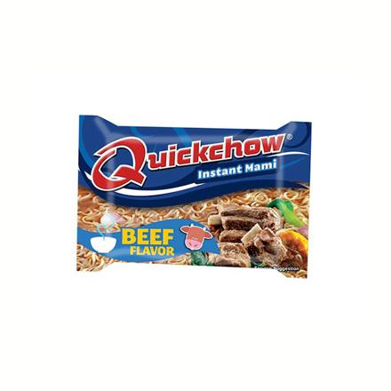 圖片 Quickchow Instant Mami 55g (Beef, Chicken, Hot and Spicy Beef), QUI02