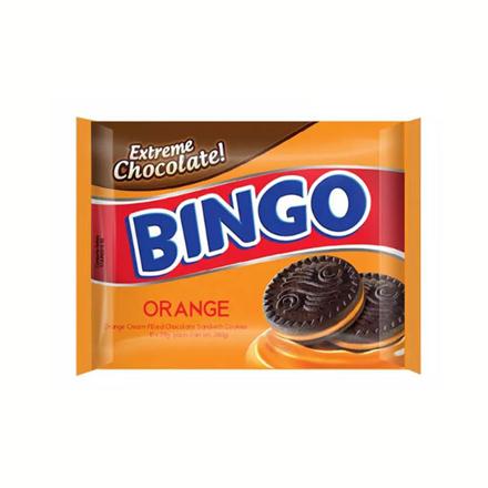 Picture of Bingo Chocolate Cookie (Orange, Double Chocolate, Vanilla) 28g 10 packs, BIN01