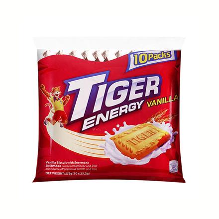圖片 Tiger Crackers Energy Biscuit Vanilla 42g 10 packs, TIG12