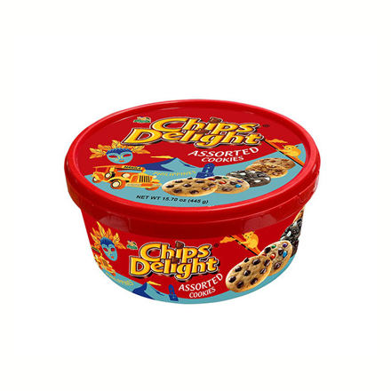 Picture of Chips Delight Assorted Tub 445g, CHI16