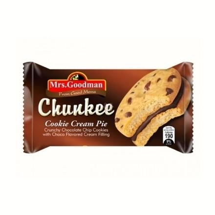 圖片 Mrs. Goodman Chunkie Cream Pie Chocolate 10 packs, MRS02