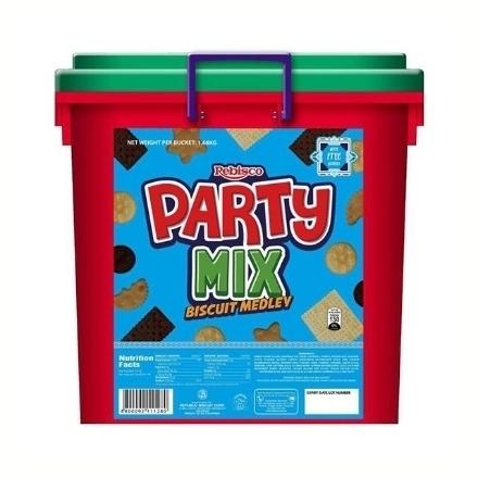 圖片 Rebisco Party Mix Biscuit Assorted 1.68 kg, REB35