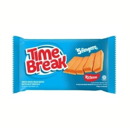 圖片 Richeese Time Break Cheese 20g 10 packs, RIC28