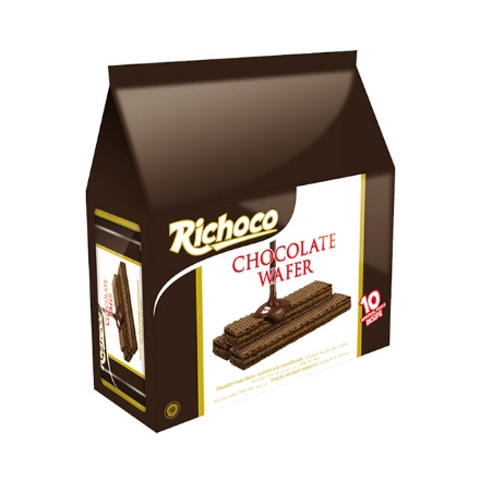 圖片 Richoco Chocolate Wafer 22g 10 packs, RIC26