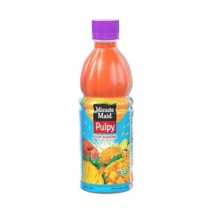 圖片 Minute Maid Pulpy Juice (Four Seasons, Mango Orange, Orange) 330 ml, MIN01