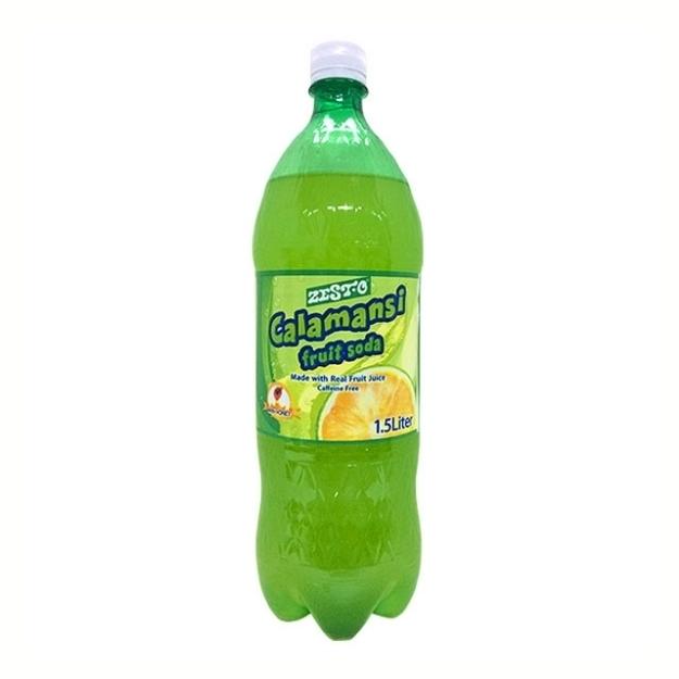 圖片 Zesto Calamansi Soda Pet Bottle 1.5 L, ZES67