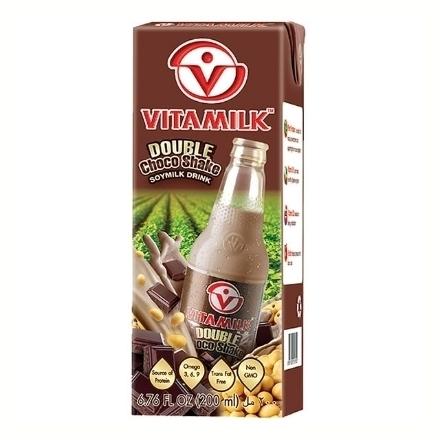 圖片 Vitamilk Soy Milk Double Choco Shake 180 ml, VIT36