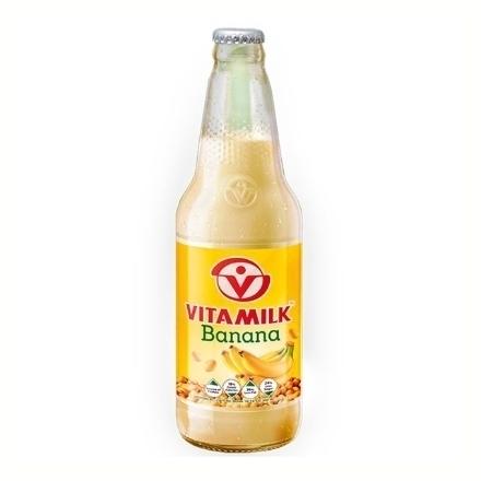 圖片 Vitamilk Soy Milk 300 ml (Banana, Choco Shake, Double Choco, Original), VIT24