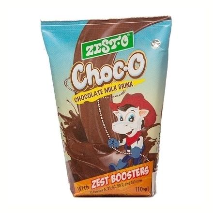 圖片 Zesto Choc-O Drink Wedge 110 ml 10 packs, ZES49