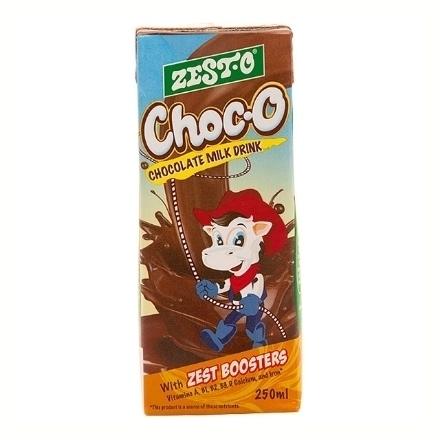 圖片 Zesto Choc-O Drink Tetra Brick 250 ml, ZES87