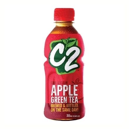 圖片 C2 Cool and Clean Green Tea 355 ml (Apple, Lemon, Green Tea), C2C03