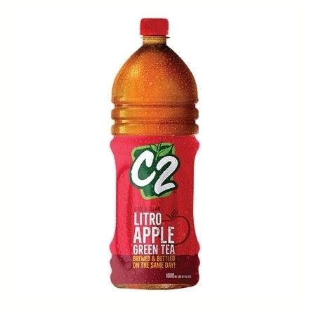 圖片 C2 Cool and Clean Green Tea  Apple 1L, C2C21