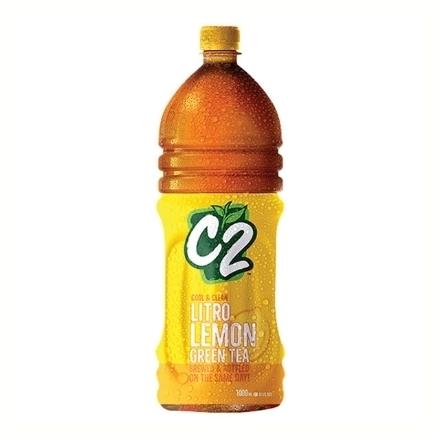圖片 C2 Cool and Clean Green Tea Lemon 1L, C2C14