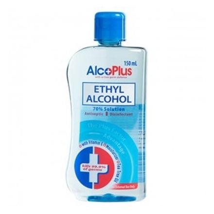 Picture of AlcoPlus Ethy Alcohol 70% Blue (150 ml, 250 ml, 500 ml), ALC04