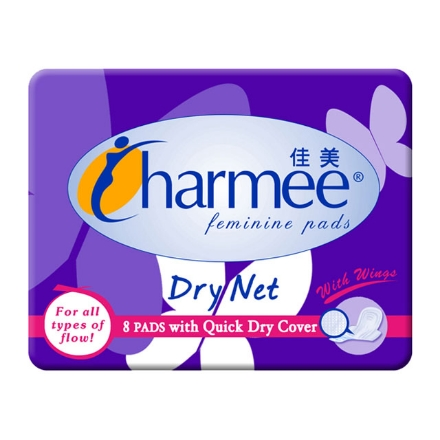 Picture of Charmee Sanitary Napkin All-flow Dry Net 8's, CHA04