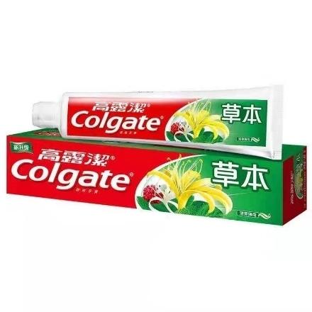 Picture of Colgate toothpaste herbal 140g,1 box, 1*48 box|高露洁牙膏草本薄荷味140g,1盒,1*48盒
